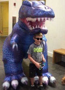 Big Dinosaur Suit Pneumatic Costume