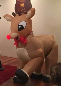 Reindeer illusion puppet suit costume