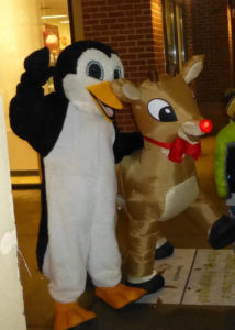 inflated quad reindeer costume