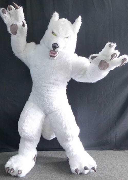 Professional Wolf mascot costume