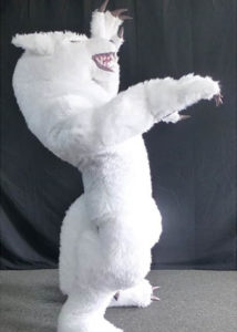 Professional Wolf costume puppet suit