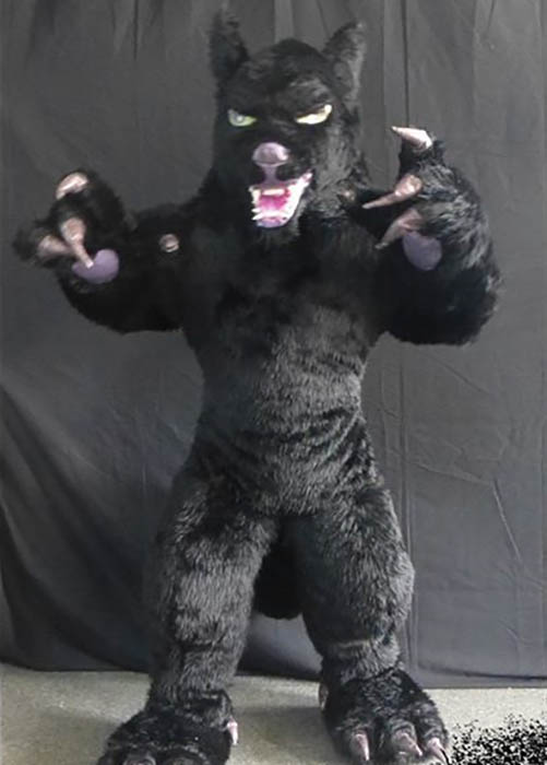 Professional Wolf air costume puppet suit