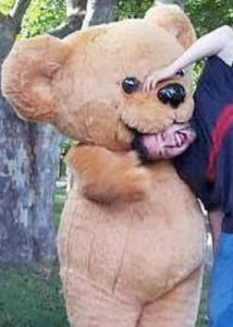 Professional Inflatable Teddy Costume Suit