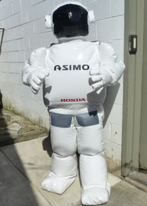 Inflatable ASIMO Mascot Costume
