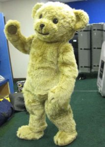 jointed steiff teddy suit
