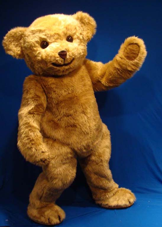 jointed steiff teddy costume
