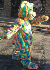tie dye teddy bear suit