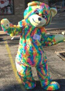 tie dye teddy bear costume