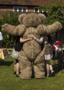 jointed giant teddy costume