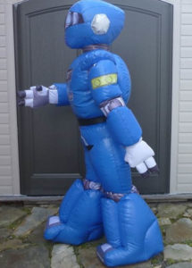 Inflatable Robot Costume Suit