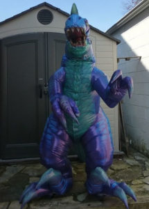 Professional Inflatable Dinosaur Suit