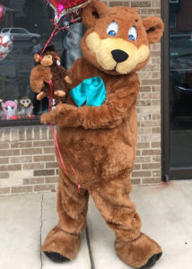 unique teddy bear mascot