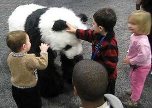 giant panda puppet