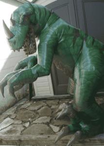 Professional Inflatable Dinosaur Puppet Suit