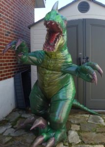 Professional Inflatable Dinosaur Costume