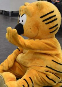 heathcliff cat costume