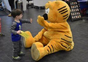 heathcliff cat mascot
