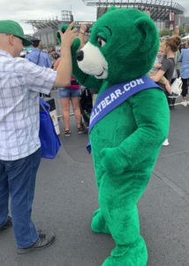 green bear suit