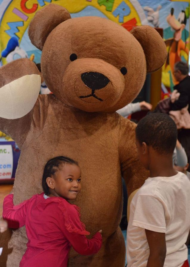 Professional Inflatable Teddy Bear Costume