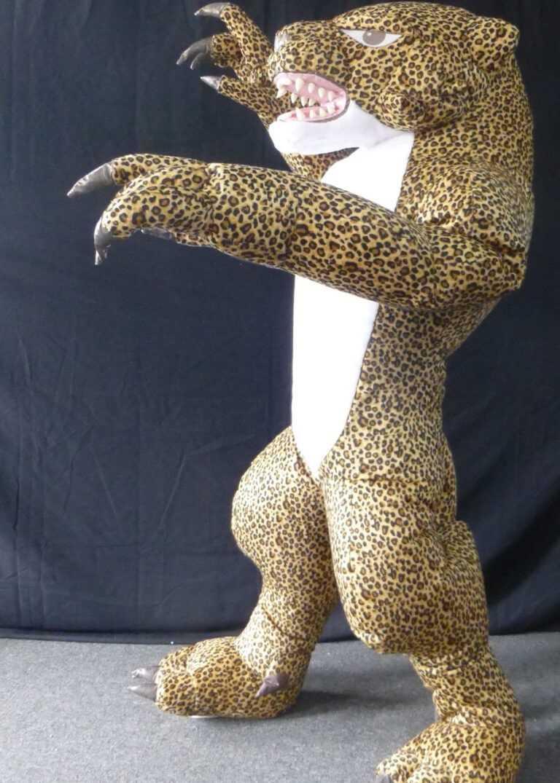 Professional Leopard Mascot Suit