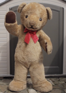 steiff teddy costume