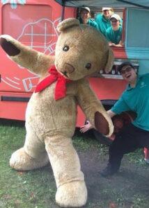 giant teddy costume