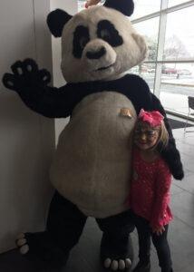 unique panda costume