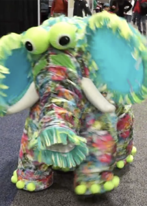 baby elephant puppet