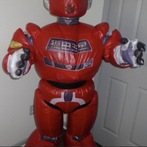 Inflatable Robot Mascot Costume