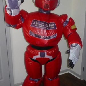 Inflatable Robot Mascot Suit