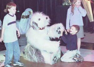 sheepdog quad suit costume