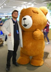 Professional Inflatable Bear Suit Costume