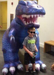 Professional Big Dinosaur Suit Costume