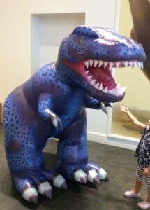 Inflatable Big Dinosaur Suit Costume