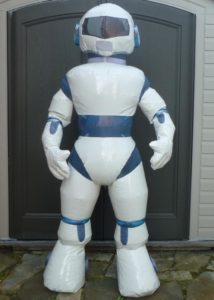 Inflatable Robot Suit Costume