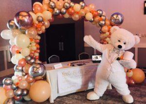 white tuxedo teddy costume