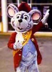 fife and drum mouse mascot