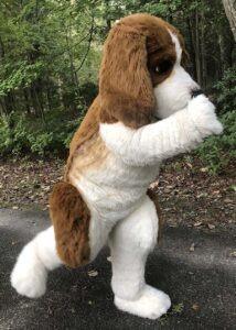 semi realistic beagle costume