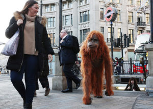 Millennium FX orangutan costume