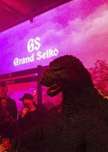 godzilla visits grand seiko LA