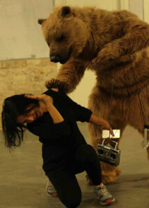 Animatronic Grizzly Bear Costume